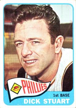1965 Topps #280 Dick Stuart