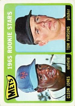 1965 Topps #308 Rookie Stars/Cleon Jones RC/Tom Parsons