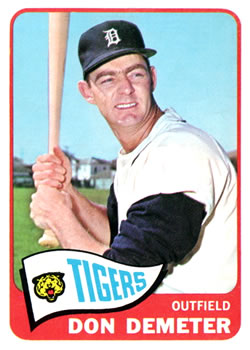1965 Topps #429 Don Demeter
