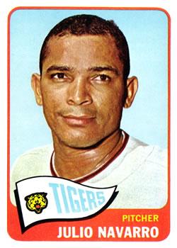 1965 Topps #563 Julio Navarro