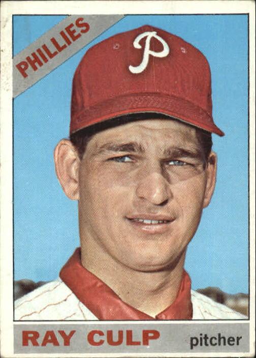 1966 Topps #4 Ray Culp