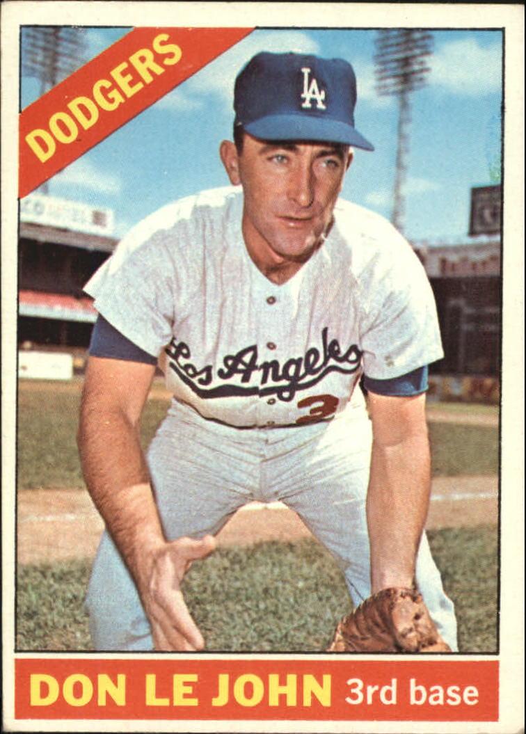 1966 Topps #41 Don LeJohn RC