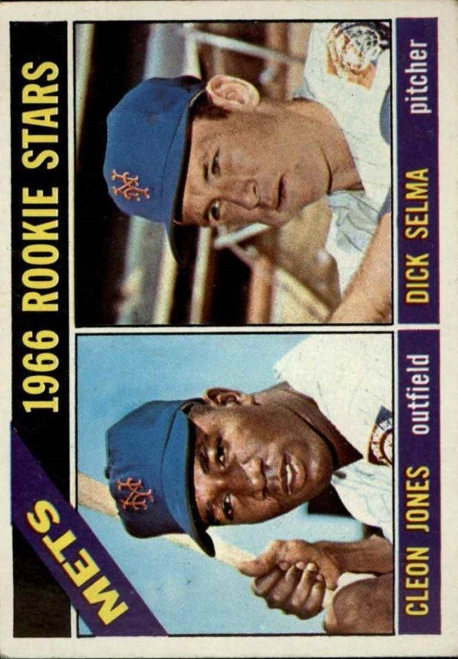 1966 Topps #67 Rookie Stars/Cleon Jones/Dick Selma RC