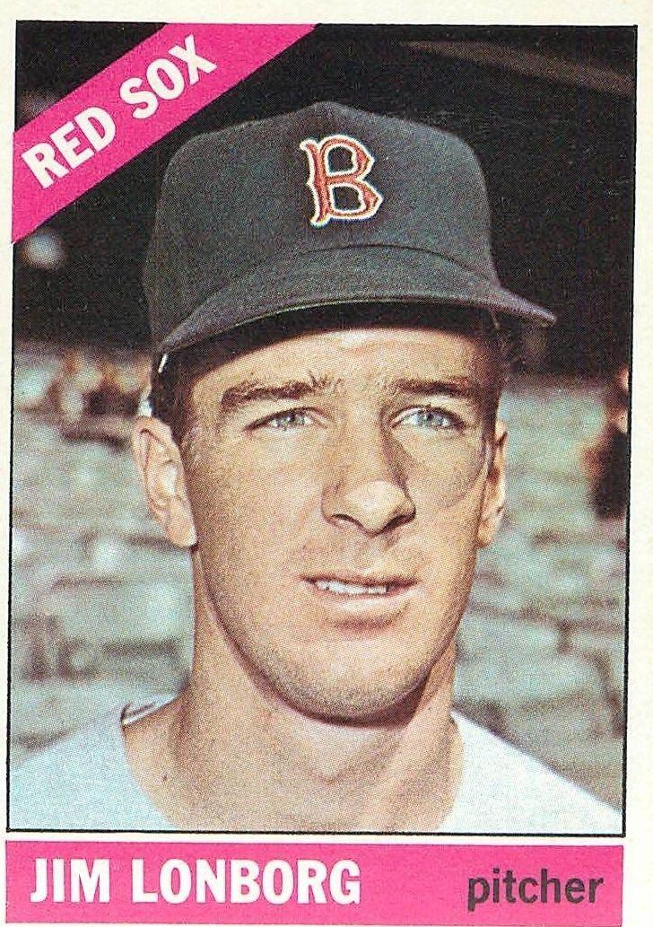 1966 Topps #93 Jim Lonborg DP