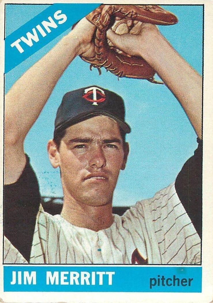 1966 Topps #97 Jim Merritt RC