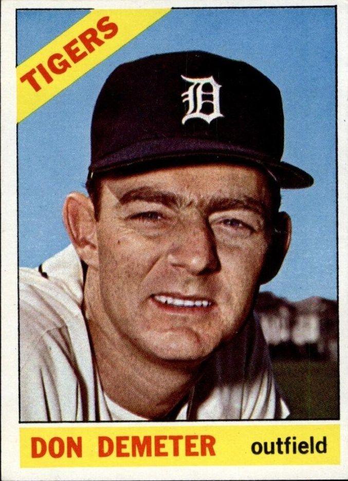 1966 Topps #98 Don Demeter