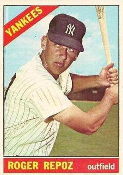 1966 Topps #138 Roger Repoz RC