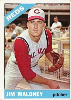 1966 Topps #140 Jim Maloney