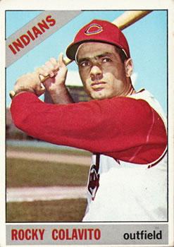 1966 Topps #150 Rocky Colavito