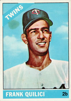1966 Topps #207 Frank Quilici RC
