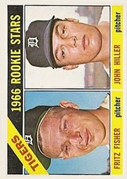 1966 Topps #209 Rookie Stars/Fritz Fisher/John Hiller RC