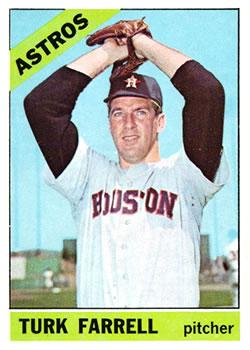 1966 Topps #377 Turk Farrell