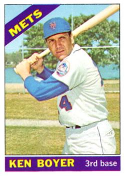 1966 Topps #385 Ken Boyer
