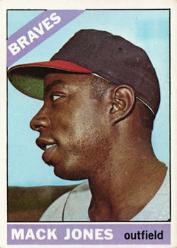 1966 Topps #446 Mack Jones
