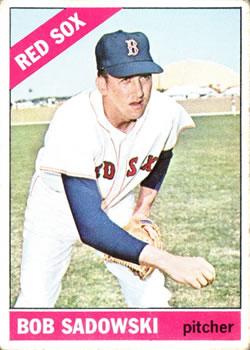 1966 Topps #523 Bob Sadowski