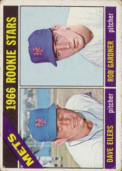 1966 Topps #534 Rookie Stars/Dave Eilers RC/Rob Gardner RC