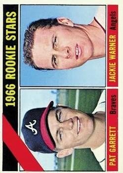 1966 Topps #553 Rookie Stars/Pat Garrett RC/Jackie Warner