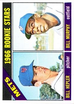 1966 Topps #574 Rookie Stars/Bill Hepler RC/Bill Murphy RC