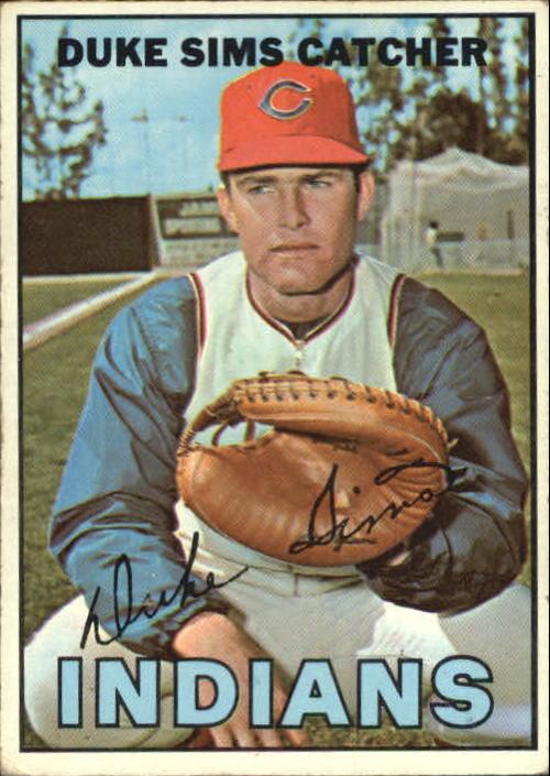 1967 Topps #3 Duke Sims