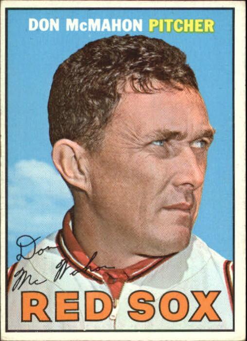 1967 Topps #7 Don McMahon