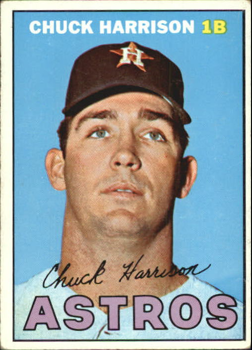 1967 Topps #8 Chuck Harrison