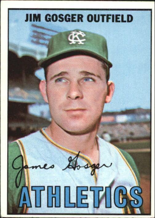 1967 Topps #17 Jim Gosger