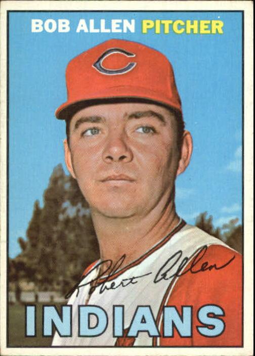 1967 Topps #24 Bob Allen