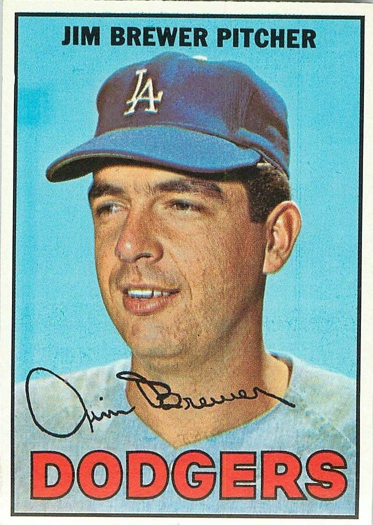 1967 Topps #31 Jim Brewer