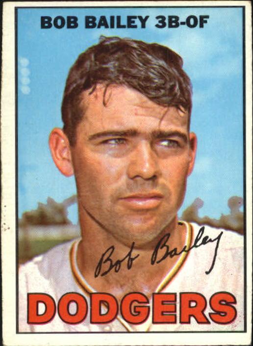 1967 Topps #32 Bob Bailey