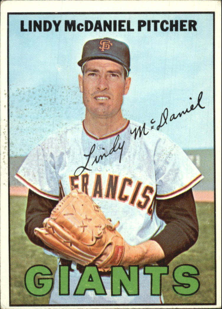 1967 Topps #46 Lindy McDaniel