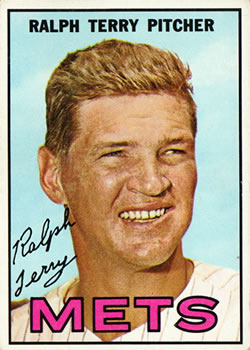1967 Topps #59 Ralph Terry