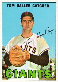1967 Topps #65 Tom Haller