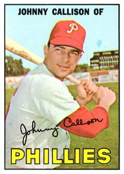 1967 Topps #85 Johnny Callison