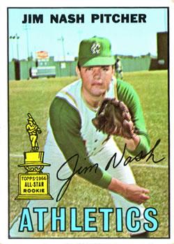 1967 Topps #90 Jim Nash RC
