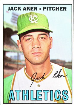 1967 Topps #110 Jack Aker