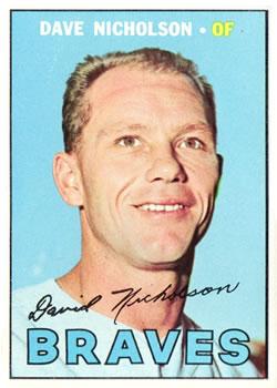 1967 Topps #113 Dave Nicholson