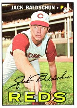 1967 Topps #114 Jack Baldschun