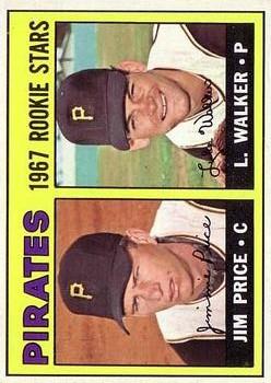 1967 Topps #123 Rookie Stars/Jim Price RC/Luke Walker