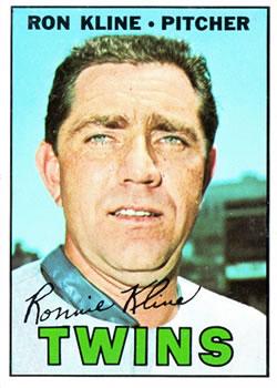 1967 Topps #133 Ron Kline