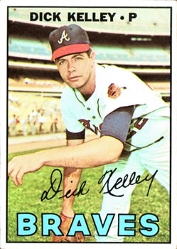 1967 Topps #138 Dick Kelley