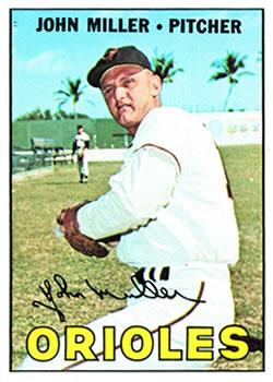 1967 Topps #141 John Miller