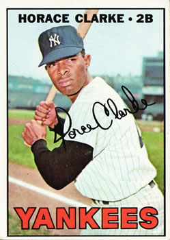 1967 Topps #169 Horace Clarke