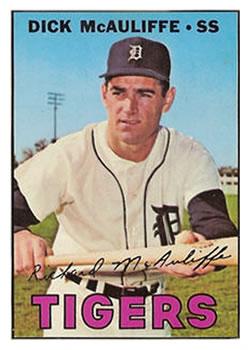 1967 Topps #170 Dick McAuliffe
