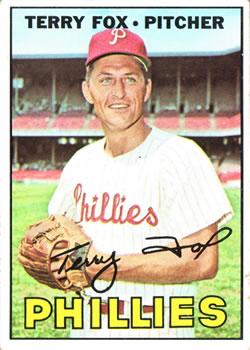 1967 Topps #181 Terry Fox