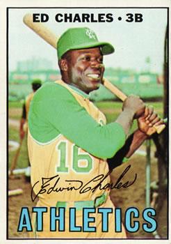 1967 Topps #182 Ed Charles