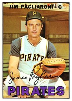1967 Topps #183 Jim Pagliaroni