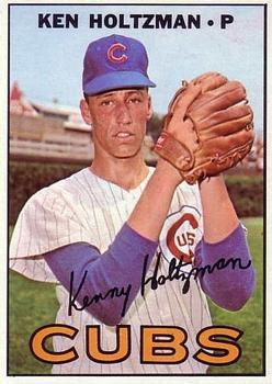 1967 Topps #185 Ken Holtzman RC