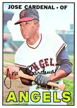 1967 Topps #193 Jose Cardenal