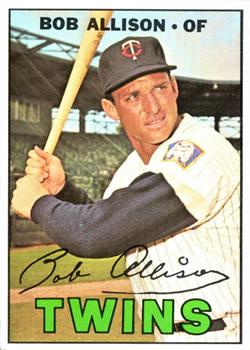 1967 Topps #194 Bob Allison