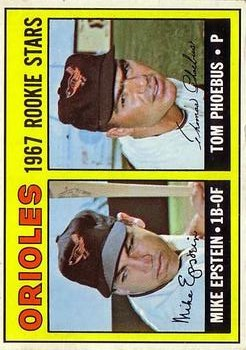 1967 Topps #204 Rookie Stars/Mike Epstein RC/Tom Phoebus RC